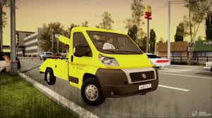100 3d Tow Truck Games Fiat Ducato For GTA San Andreas