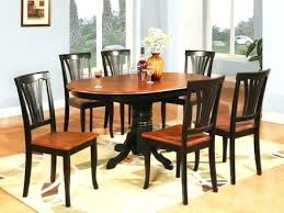 Full Size Of Oval Dining Room Table Dimensions Set With Leaf Tables Leaves For 6 7