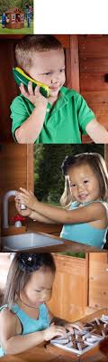 Permanent Playhouses 145995: Backyard Discovery Timberlake Cedar ... Outdoor Play Walmartcom Childrens Wooden Playhouse Steveb Interior How To Make Indoor Kids Playhouses Toysrus Timberlake Backyard Discovery Inspiring Exterior Design For With Two View Contemporary Jen Joes Build Cascade Youtube Amazoncom Summer Cottage All Cedar Wood Home Decoration Raising Ducks Goods