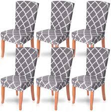 chicsoleil stuhlhussen stuhlbezüge 1 4 6er set stretch