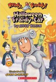 Pre K Halloween Books by Halloween Fraidy Cat By Abby Klein Scholastic
