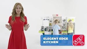 Step2 Kitchens U0026 Play Food by Step2 Elegant Edge Kitchen Playset Walmart Com