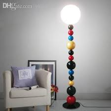 Chrome Overhanging Floor Lamp by Excellent 70s Chrome And Glass Laurel Bubble Table Floor Lamp