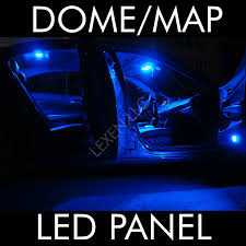blue 9 smd circle led panel interior lights