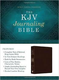 KJV Journaling Bible Compiled By Barbour Staff 9781628369564 Amazon Books