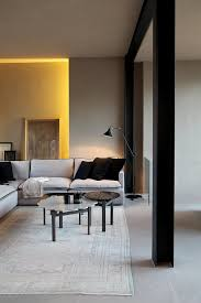 small space living room furniture with awesome yellow ligting and