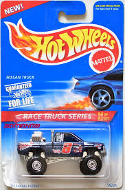 100 1995 Nissan Truck HOT WHEELS RACE TRUCK SERIES NISSAN TRUCK 44 0004755