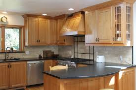 Light Blue Subway Tile by Granite Countertop Can I Put A Glaze On My Kitchen Cabinets How