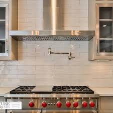 Subway Tile Backsplash For Kitchen Elongated Subway Tile Backsplash Design Ideas