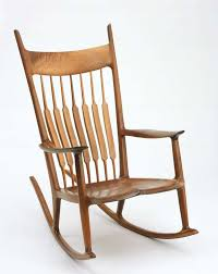 Maloof Rocking Chair Joints by Rocking Chair Museum Of Fine Arts Boston
