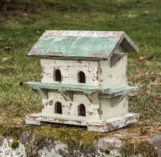 Rustic Decorative Bird House 15 X X10 George