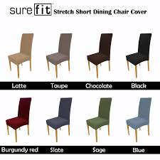 Details About Color Choice SUREFIT Stretch Short Corduroy Dining Chair  Cover Machine Washable Sure Fit Stretch Pique Box Cushion Ding Chair Slipcover Bree Set Of 2 Taupe Classic Slipcovers Cabana Stripe Short Covers For Roomsilver Grey 6 Velvet Large Aegis Armchair Contemporary Modern Fniture Modway Pattern Cover Great Bay Home Plush Washable Summerhill Collection 4 Black Surefit Pearson Details About Fabric Scroll Top High Back Leather Oak Chairs Seat