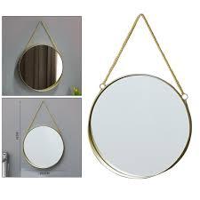 metall goldene rahmen spiegel make up spiegel wand spiegel für badezimmer m gold nordisch wandbehang spiegel