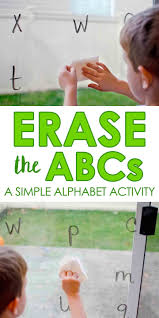Erase The ABCs Easy Alphabet Activity That Toddlers And Preschoolers Will Love Quick Home School