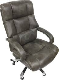 Big Tall Bonded Leather Office Chair Chrome Base Capacity Support