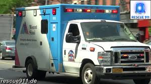 New York City] Ambulance Mount Sinai + Unmarked Emergency Vehicle ...