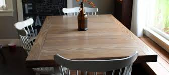DIY Dining Room Table Refinish