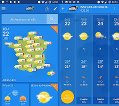 meteo sur bureau installer meteo sur bureau gratuit beautiful les applications