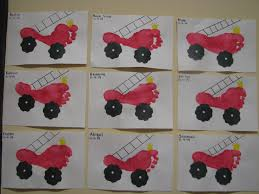 Firetruck Footprints By D4   Handprints And Footprints, Oh My ... Fire Truck Box Craft Play And Learn Every Day Busy Hands Shape Truck Craft Crafts Httpcraftyjarblogspotcom Boys Will Be Pinterest Wood Toy Kit Joann Ms Makinson News With Naylors Letter F Firefighter Tot Shocking Loft Little Tikes Bed Bunk Kid Image For Abcs Polka Dots Cute Craftstep By Step Wooden Southern Highland Guild Community Workers Crafts Trucks U Storytime Katie Jumboo Toys Brigade Buy Online In South