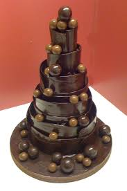 Wedding Chocolate Cake Photo