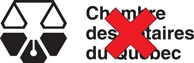 la chambre des notaires logo de la profession notariale entracte