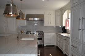 Grey and White Kitchen Traditional Kitchen Dallas by