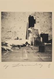 Photo By CY Twombly Robert Rauschenberg Combine Material Fulton St Studio Color Dry Print Ed
