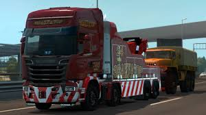 1.30] Euro Truck Simulator 2 | Truck Mod Scania Streamline Tow Truck ... Desktop Themes Euro Truck Simulator 2 Ats Mods American Truck Uncle D Ets Usa Cbscanner Chatter Mod V104 Modhubus Improved Company Trucks Mod Wheels With Chains 122 Ets2 Mods Jual Ori Laptop Gaming Ets2 Paket Di All Trucks Wheel In Complete Guide To Volvo Fh16 127 Youtube How Remove The 90 Kmh Speed Limit On Daf Crawler For 123 124 Peugeot Boxer V20 Thrghout Peterbilt 351 Yellow Peril Skin