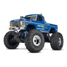 Traxxas TRA36034-1 1/10 Bigfoot #1 The Original Monster Truck ... Traxxas Rustler Vxl Brushless 110 Rtr Stadium Truck Blue By Tra370541blue 760445 Kkin Latrax Sst 4wd Electric Vehicle Erevo 168v Dual Motor Monster W Tsm Tqi 24 2wd Brushed Waterproof 30mph Speed Energy Super Trucks Presented Traxxas 2016 Year In 24ghz With Eurorccom Ford Raptor F150 With Radio White Nitro Slash Trx 33 Truck Trx440563 Hawaiian Edition 1992 Hawk 2 Rc Youtube Nitro Sport Tq Ghz