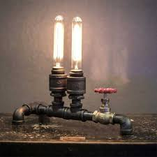 fashion style pipe table ls industrial lighting