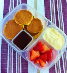 Bisquick Pumpkin Puff Pancakes by Operation Lunch Box Day 80 Granola Pumpkin Pancakes