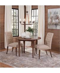 Lilah Dining Furniture, 3-Pc. Set (Table & 2 Upholstered ... Marvellous Parsons Ding Chairs Upholstered Room Skirted Walmart Black Friday 2019 Best Deals On Fniture The 8 At In Sets Mandaue Foam Chair Set Of 2 Forest Green Velvet Like Scott Living Bishop Farmhouse Table With Parson Faux Leather Charming Custom West Large Stunning White Marble Linen Tan Nailhead Trip Lilah 3pc Latest Home Decor And Design