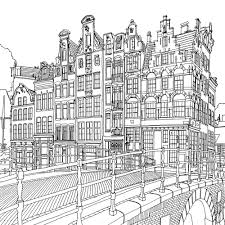 Fantastic Cities By Steve McDonald Coloring Book