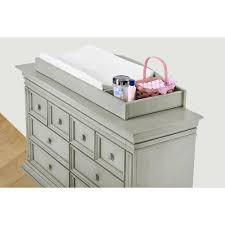 Babies R Us Dresser Topper by Amazon Com Baby Cahce Vienna Changing Topper In Ash Gray Finish