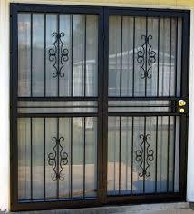 Security Door For Sliding Door