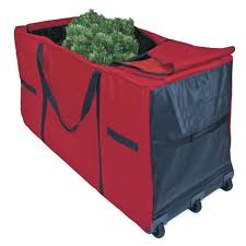Tree Storage Boxes Bag With Wheels From Products Christmas Plastic
