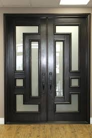 Double Glazed Glass Front Door Wood And Entry Doors Rustic Style Jeld Wen Aurora Model A 1322 Fiberglass 5 X 8 Stained 618x464 Outstanding Images Compact