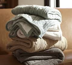 Cozying Up Your Home with Cable Knit Blankets & Other Decor