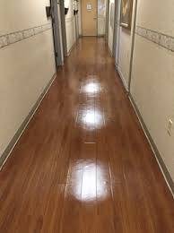 vct floor stripping and waxing pasco county complete care