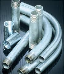 use conduit for nonstandard areas bay window curtain rod and