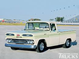 1961 Chevy Apache Pickup Truck - Hot Rod Network Sold1961 Chevy Apache Passing Lane Motors Classic Cars For Gmc Pickup Short Bed 1960 1961 1962 1963 1964 1965 1966 Chevy Crosscountry Road Warriors Cross Paths At Hemmings Cruise Patina C10 Frame Off Used Chevrolet Other For Sale Suburban Wikipedia Pickup Truck Youtube Crew Cab 3 Door 100 Pics To View Rare Railroad Forestry Chevrolet Apache Pickup Pickups And Trucks Pinterest C60 Sale Mylittsalesmancom