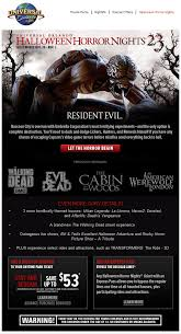 Halloween Horror Nights Express Pass by Resident Evil Escape From Raccoon City Archives U2013 The Hhn Yearbook