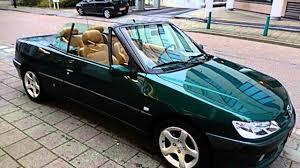Peugeot 306 Cabriolet Cabriolet 1 6 leer elek kap