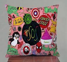 5 Seconds Of Summer Cute Collage Pillow