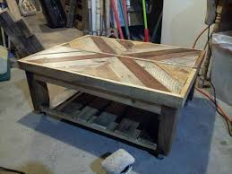 diy squared pallet coffee table pallet furniture diy