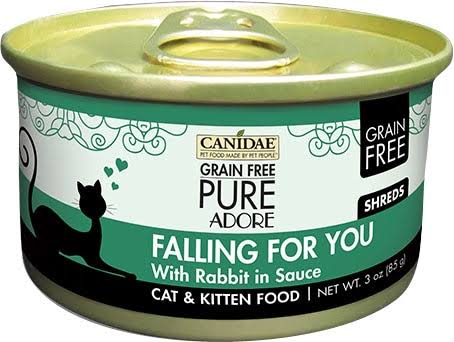Canidae Pure Adore Falling For You Cat and Kitten Food - Rabbit Sauce, 3oz