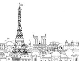 Paris Coloring Book Min Heo Gloria Fowler 9781623260484 Amazon New Pages