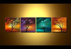 Four Canvas Painting Ideas Wall Art Astonishing Multiple Inspiring