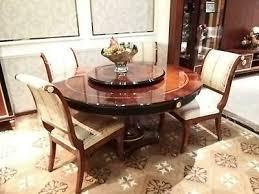 runder esszimmer 4 stühle stuhl set garnitur rund tisch holz