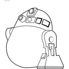 Vader R2 D2 Angry Birds Coloring Page